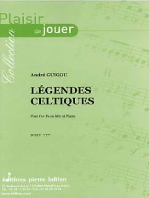 André Guigou - Légendes Celtiques - Partition - di-arezzo.fr