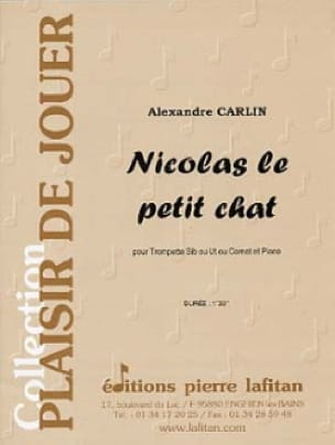 Alexandre Carlin - Nicolas the little cat - Sheet Music - di-arezzo.com