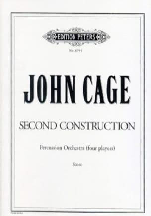 Second Construction - Score - John Cage - Partition - laflutedepan.com