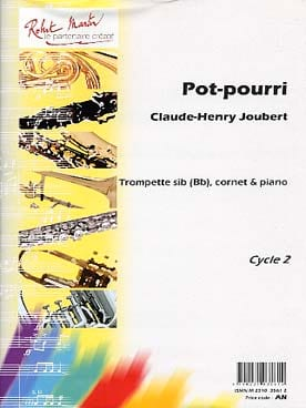 Pot-Pourri - Claude-Henry Joubert - Partition - laflutedepan.com
