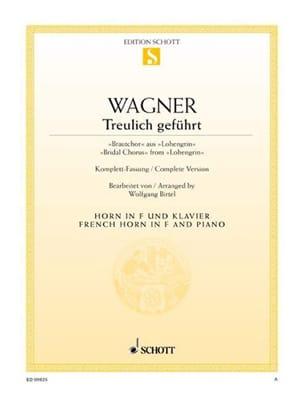 Richard Wagner - Treulich Geführt - Lohengrin - Sheet Music - di-arezzo.co.uk