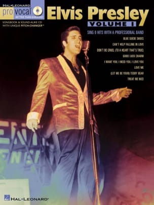 Pro Vocal Men's Edition Volume 10 - Elvis Presley - Volume 1 laflutedepan