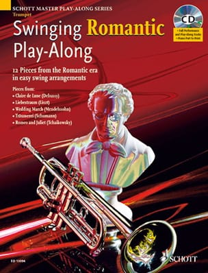 Swinging Romantic Play-Along Partition Trompette - laflutedepan