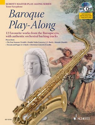 - Baroque Play-Along - Partition - di-arezzo.fr
