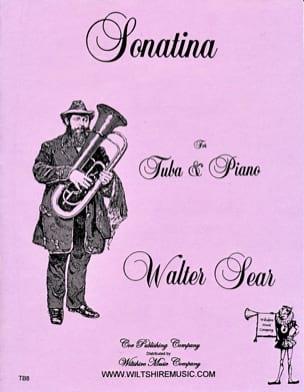 Sonatina Walter Sear Partition Tuba - laflutedepan