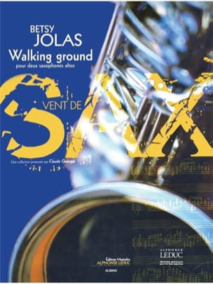 Betsy Jolas - Walking Ground - Sheet Music - di-arezzo.co.uk