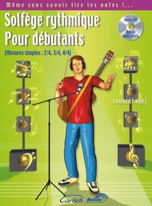 Solfège rytmhique pour débutants - Laurent Huet - laflutedepan.com