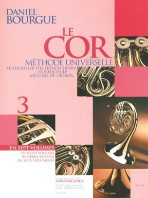 Daniel Bourgue - The Cor Universal Method Volumen 3 - Partitura - di-arezzo.es