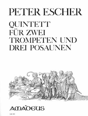Peter Escher - Quintet op. 114 - Partition - di-arezzo.fr