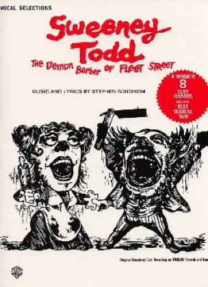 Stephen Sondheim - Sweeney Todd, Demon Barber Of Fleet Street - Sheet Music - di-arezzo.co.uk