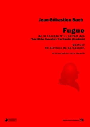 Johann Sebastian Bach - Fugue - De la Toccata N° 7 Pour Piano - Partition - di-arezzo.fr