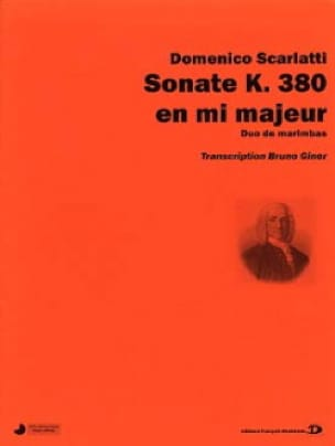 Sonate k.380 en mi majeur - Domenico Scarlatti - laflutedepan.com