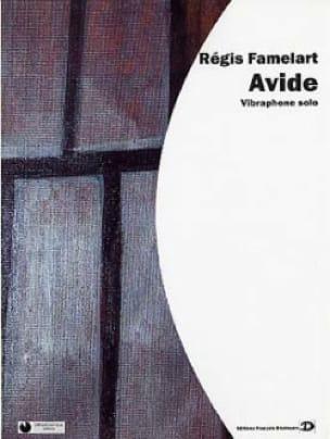 Avide - Régis Famelart - Partition - Vibraphone - laflutedepan.com