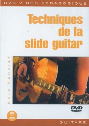Eric Sauviat - DVD - Slide Guitar Techniques - Sheet Music - di-arezzo.co.uk