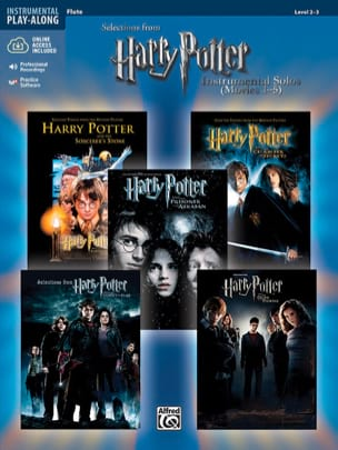 Harry Potter instrumental solos movies 1-5 Partition laflutedepan