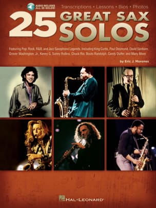 25 Great Sax Solos - Partition - di-arezzo.fr