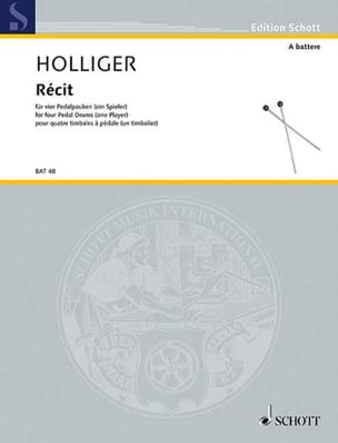 Heinz Holliger - storia - Partitura - di-arezzo.it