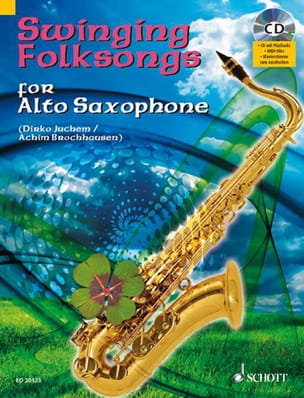 Swinging Folksongs - Partition - Saxophone - laflutedepan.com