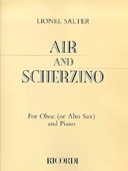Lionel Salter - Air And Scherzino oboe or alto sax - Sheet Music - di-arezzo.com