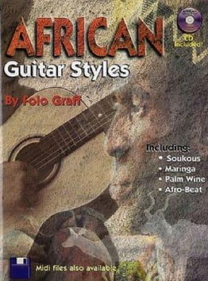 Folo Graff - African Guitar Styles - Sheet Music - di-arezzo.com