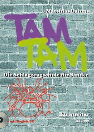 Matthias Dahms - Tam Tam - Partition - di-arezzo.fr