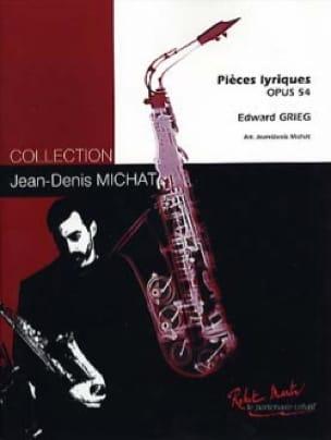 Pièces Lyriques Opus 54 - Edgard Grieg - Partition - laflutedepan.com