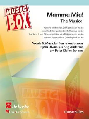 Abba (Benny Andersson, Björn Ulvaeus & Stig Andersson) - Mamma mia - caja de música - Partitura - di-arezzo.es