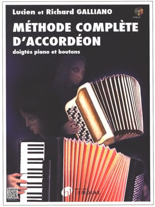 Lucien Et Richard Galliano - Complete Accordion Method - Sheet Music - di-arezzo.co.uk