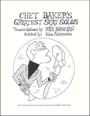 METHODE AEBERSOLD - Chet Baker's Greatest Scat Solos - Sheet Music - di-arezzo.com