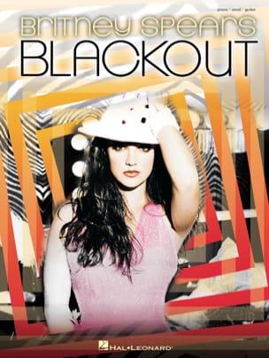 Blackout - Britney Spears - Partition - laflutedepan.com