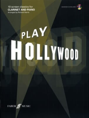 Play Hollywood Partition Clarinette - laflutedepan