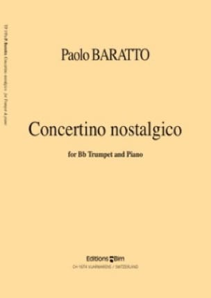 Paolo Baratto - Concertino Nostalgico - Sheet Music - di-arezzo.co.uk