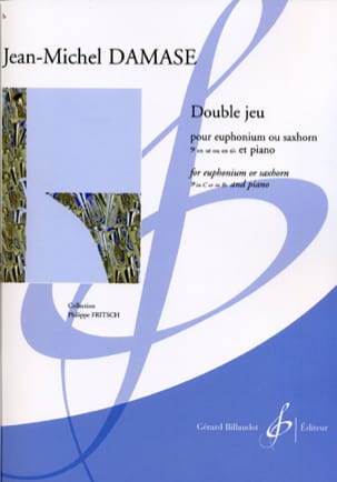 Double Jeu Jean-Michel Damase Partition Tuba - laflutedepan