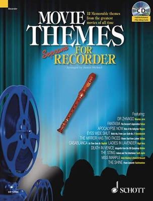 Movie Themes For Soprano Recorder - Sheet Music - di-arezzo.com