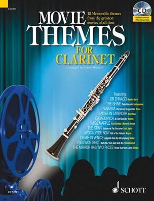 Movie Themes For Clarinet - Sheet Music - di-arezzo.com