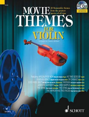 Movie Themes For Violin - Sheet Music - di-arezzo.com
