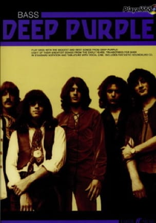 Deep Purple - Auténtico Playalong Deep Purple - Partitura - di-arezzo.es