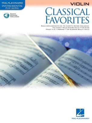Classical Favorites Partition Violon - laflutedepan