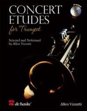 Concert etudes - Partition - Trompette - laflutedepan.com