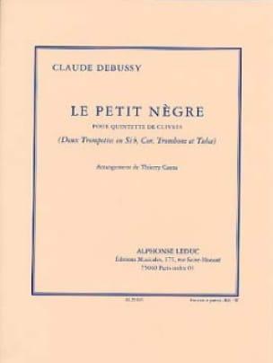 Le Petit Nègre DEBUSSY Partition Ensemble de cuivres - laflutedepan