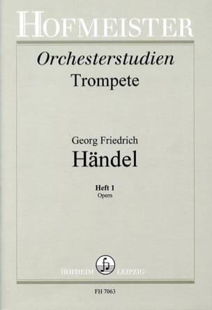 HAENDEL - Orchesterstudien Heft 1 - Opern - Sheet Music - di-arezzo.com