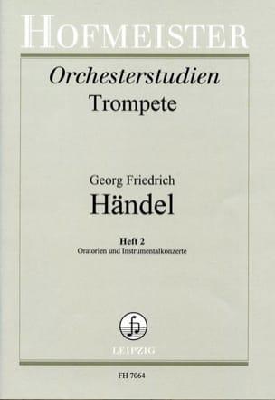 HAENDEL - Orchesterstudien Heft 2 - Oratorian - Instrumentalkonzerte - Sheet Music - di-arezzo.com