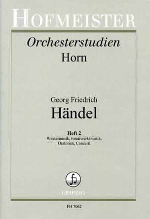 HAENDEL - Orchesterstudien Heft 2 - Sheet Music - di-arezzo.com