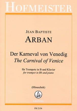Jean-Baptiste Arban - Der Karneval Von Venedig - Sheet Music - di-arezzo.co.uk