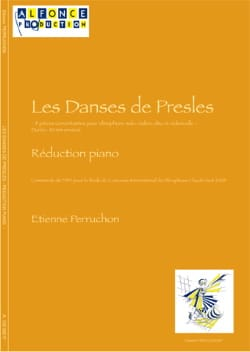 Etienne Perruchon - Les Danses de Presles - Partition - di-arezzo.fr