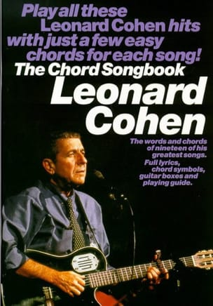 Leonard Cohen - The Chord Songbook - Sheet Music - di-arezzo.com