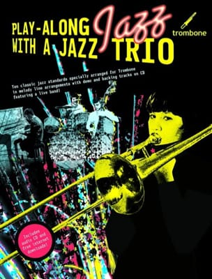 Play Along Jazz With A Jazz Trio - Partition - di-arezzo.fr