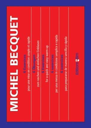 Michel Becquet - 6 Exercices - Partition - di-arezzo.fr