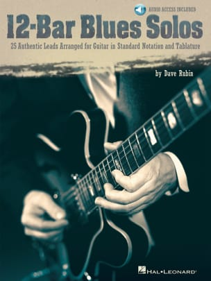 12-Bar Blues Solos Dave Rubin Partition Guitare - laflutedepan