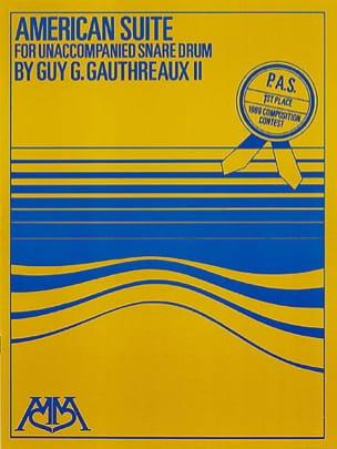 Guy G. Gauthreaux II - American Suite - Sheet Music - di-arezzo.co.uk